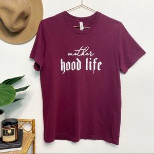 boutique   mother hood life hiphop graphic tee m